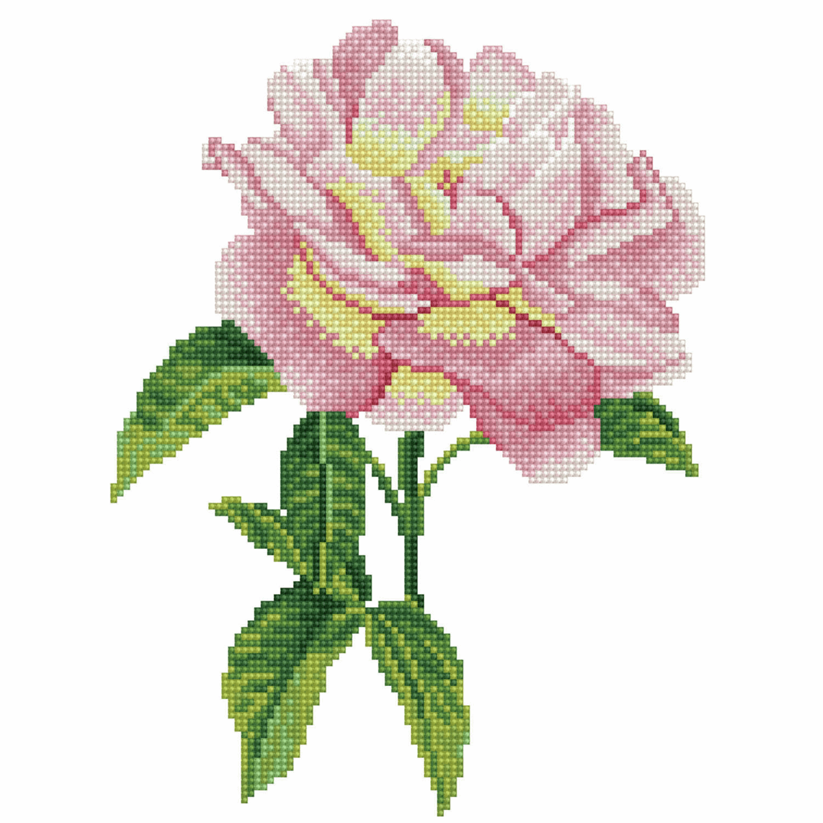 Picture of Diamond Painting Kit: Pink Rose