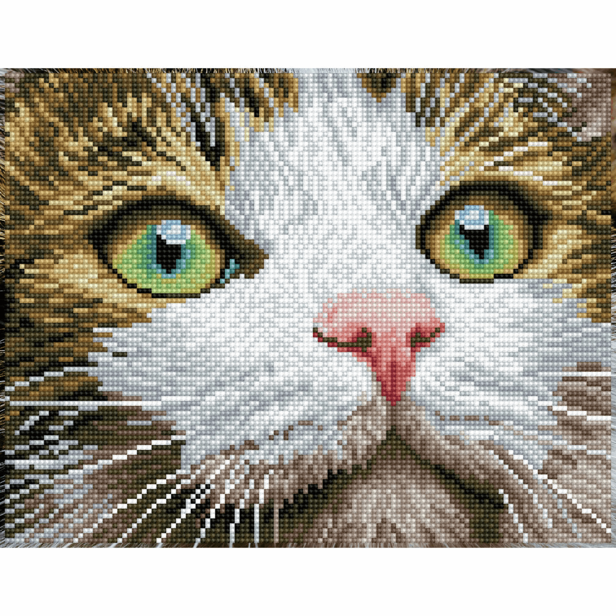 Picture of Diamond Painting Kit: Green Eyed Beauty