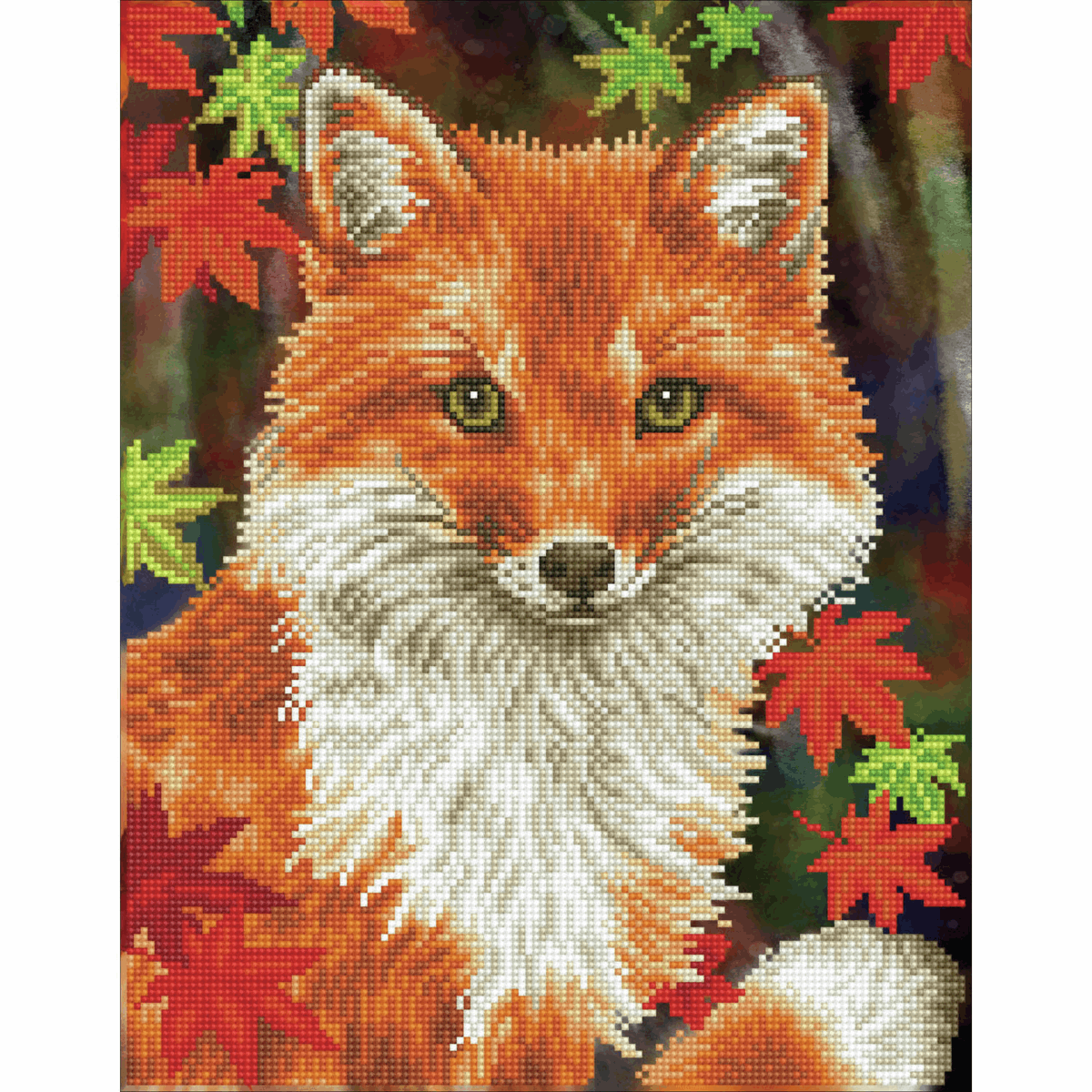 Picture of Diamond Painting Kit: Foxy