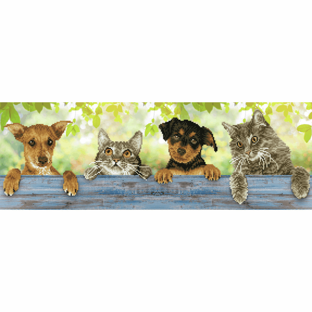 Picture of Diamond Painting Kit: Hang-in-There