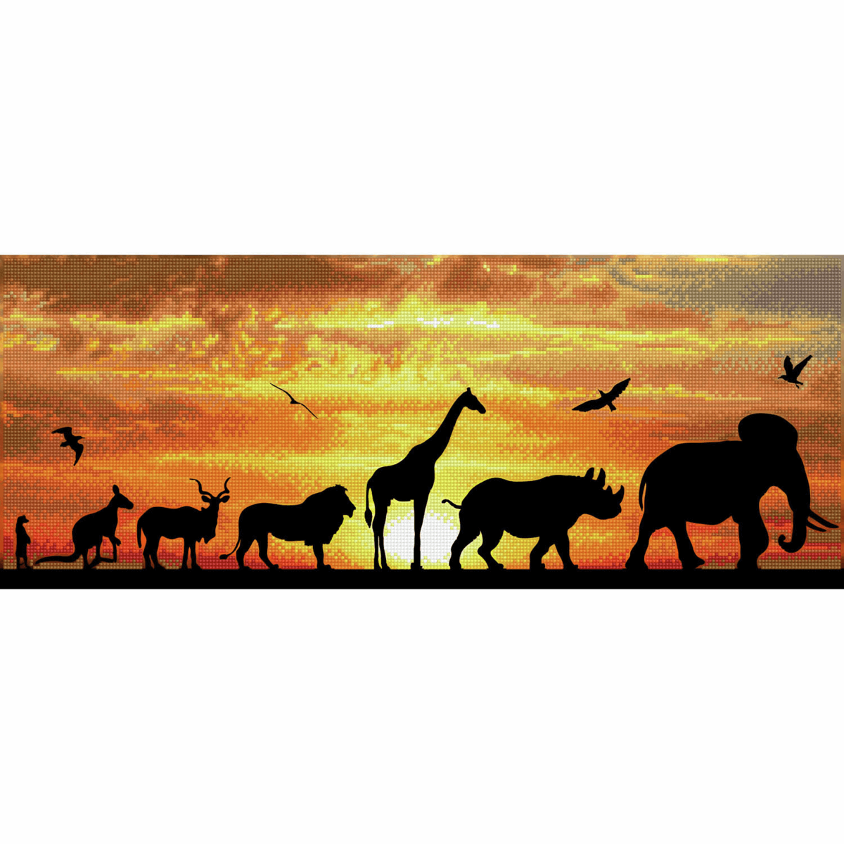 Picture of Diamond Painting Kit: African Sky
