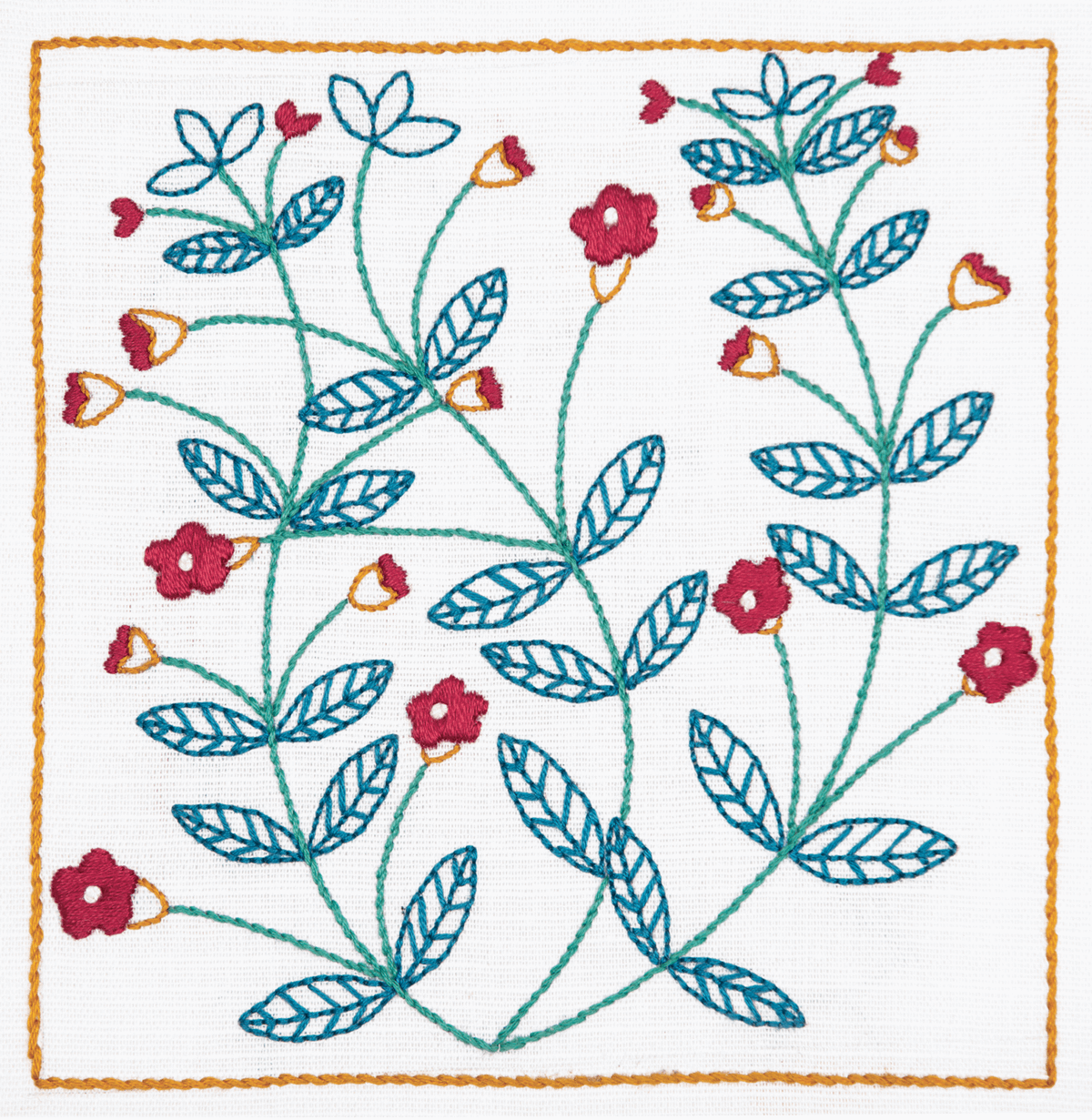 Picture of Embroidery Kit: Freestyle: Dee Hardwicke: Pimpernel