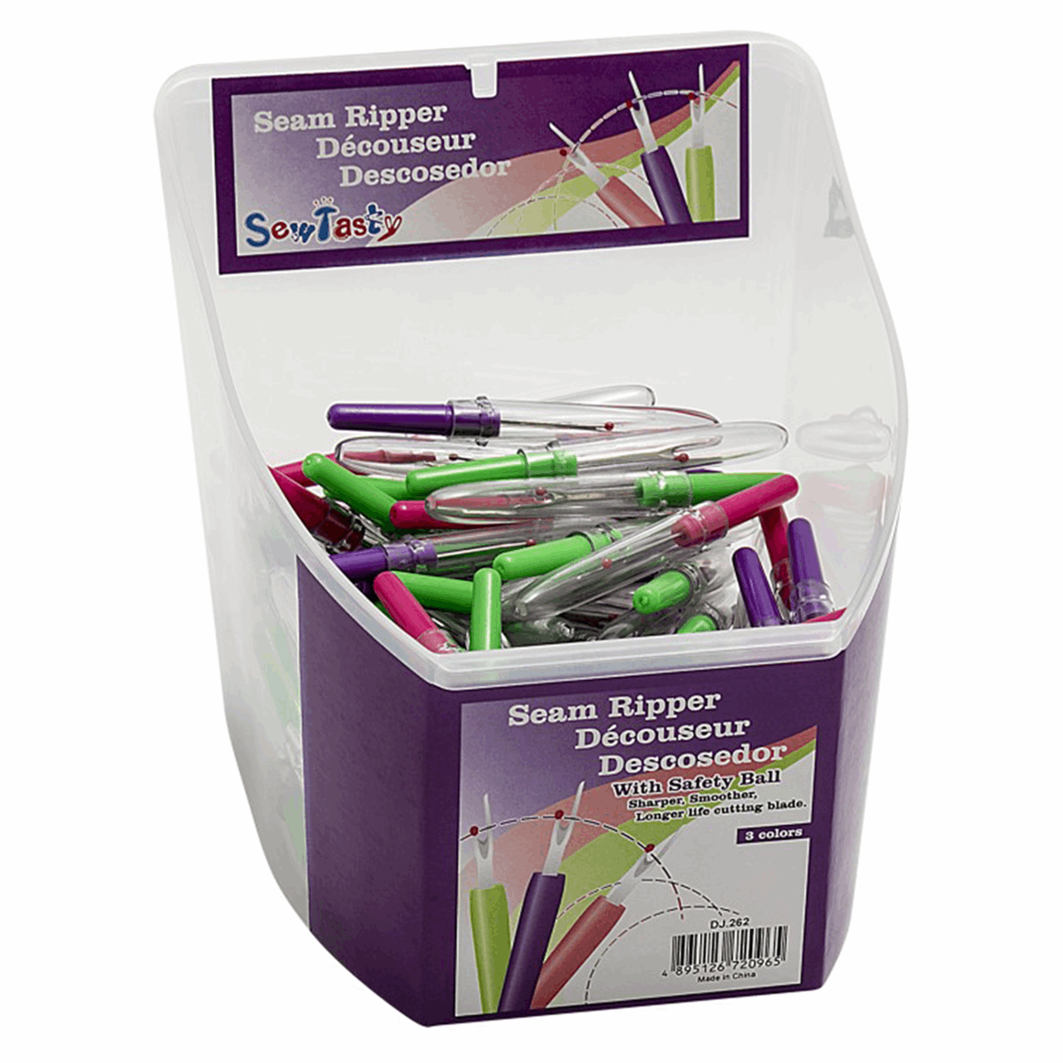Picture of Counter Display Tub: Seam Rippers: 120 Pieces