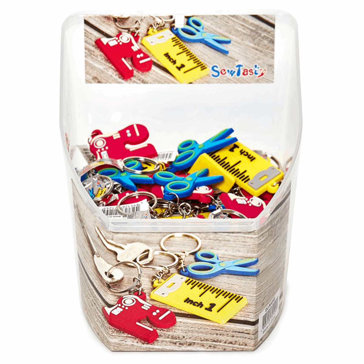 Picture of Counter Display Unit: Sewing Key Rings: 75 Pieces