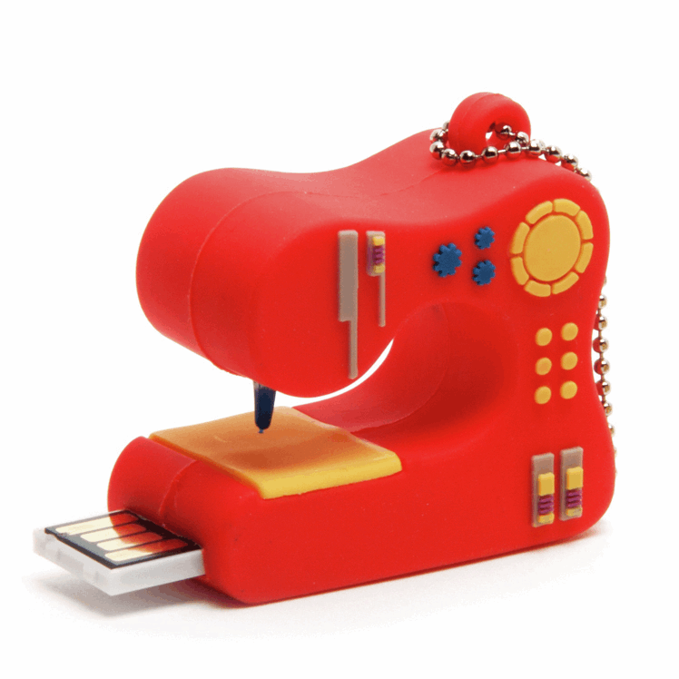 Picture of USB Storage Device: Sewing Machine: 2GB