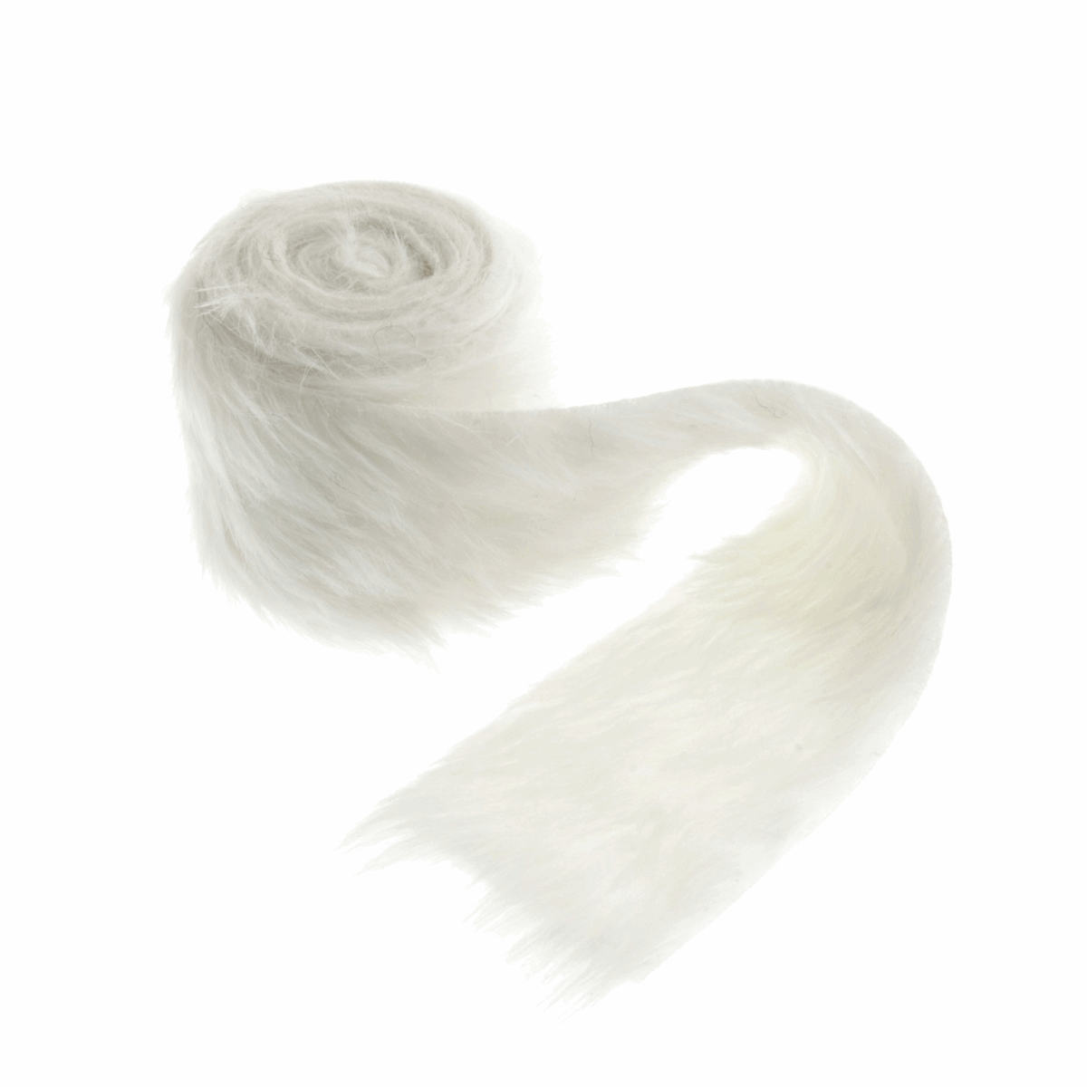 Picture of Faux Fur Trim: 2m x 80mm: White