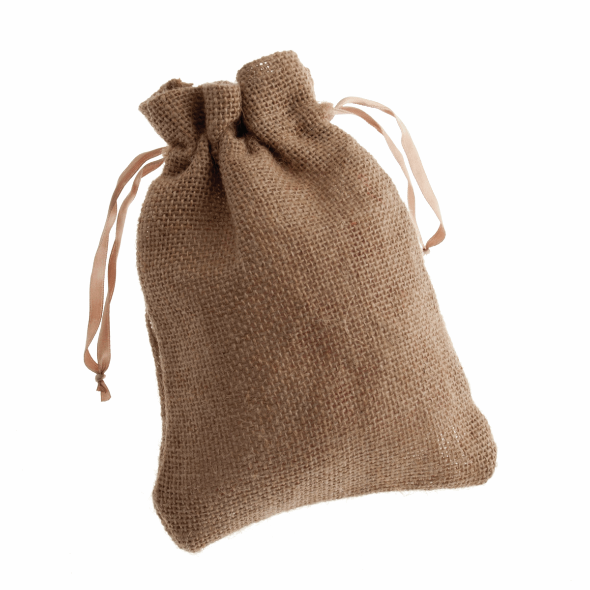 Picture of Natural Hessian Bag: 21 x 15cm