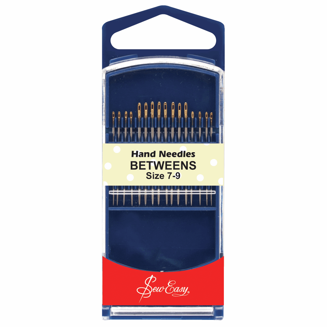 Picture of Hand Sewing Needles: Gold Eye: Betweens: Size 7-9