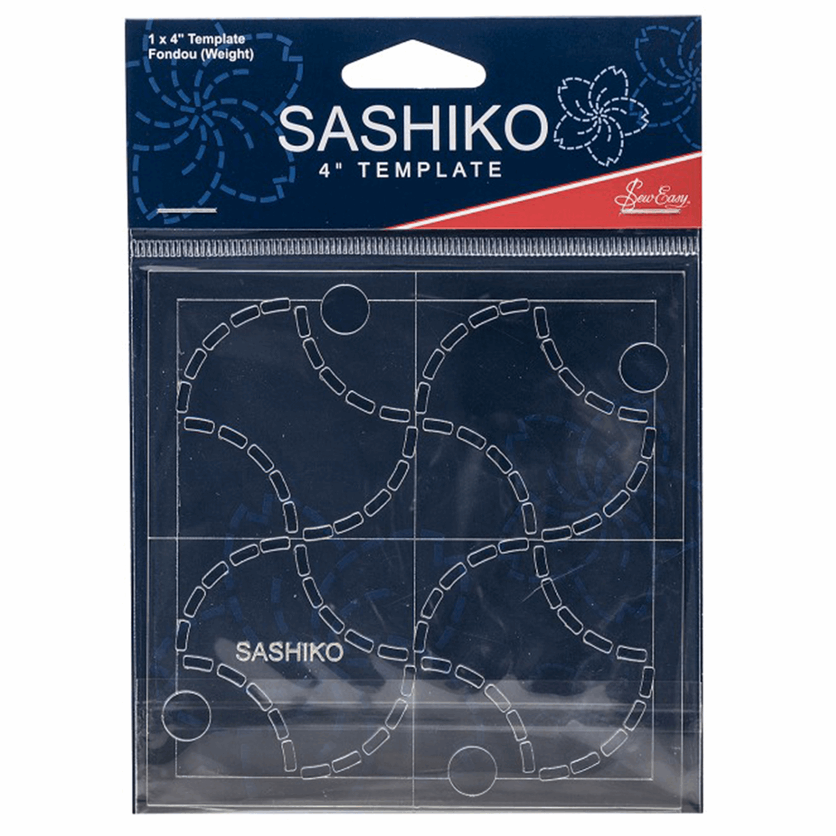 Picture of Sashiko: Template: 4in: Fondou (Weights)