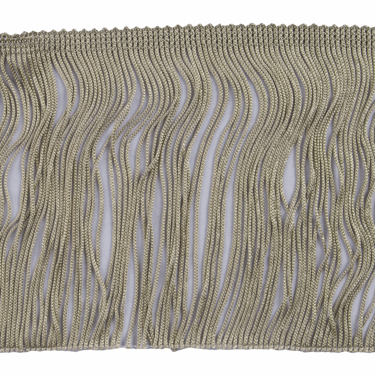 Picture of Fringe: Chainette: 5m x 12.5cm: Green