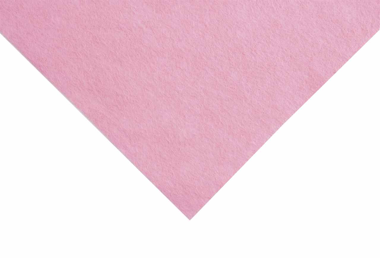 Picture of Felt: Wool: Roll: 5m x 180cm: Baby Pink