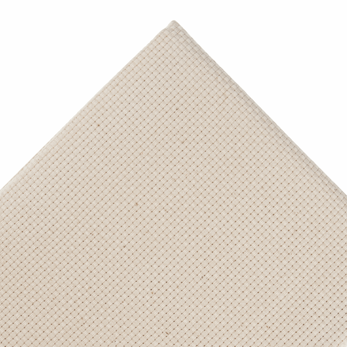 Picture of Punch Needle Fabric: 9 Count: 5m x 1.5m: Cream: Bolt