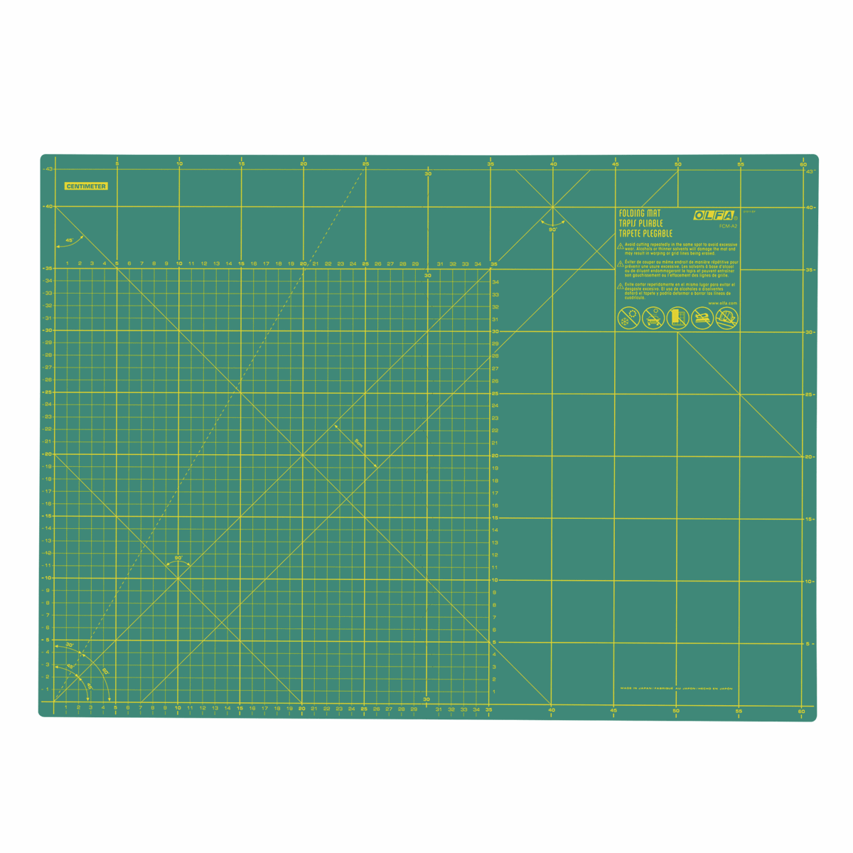 Picture of Cutting Mat: Folding: A2