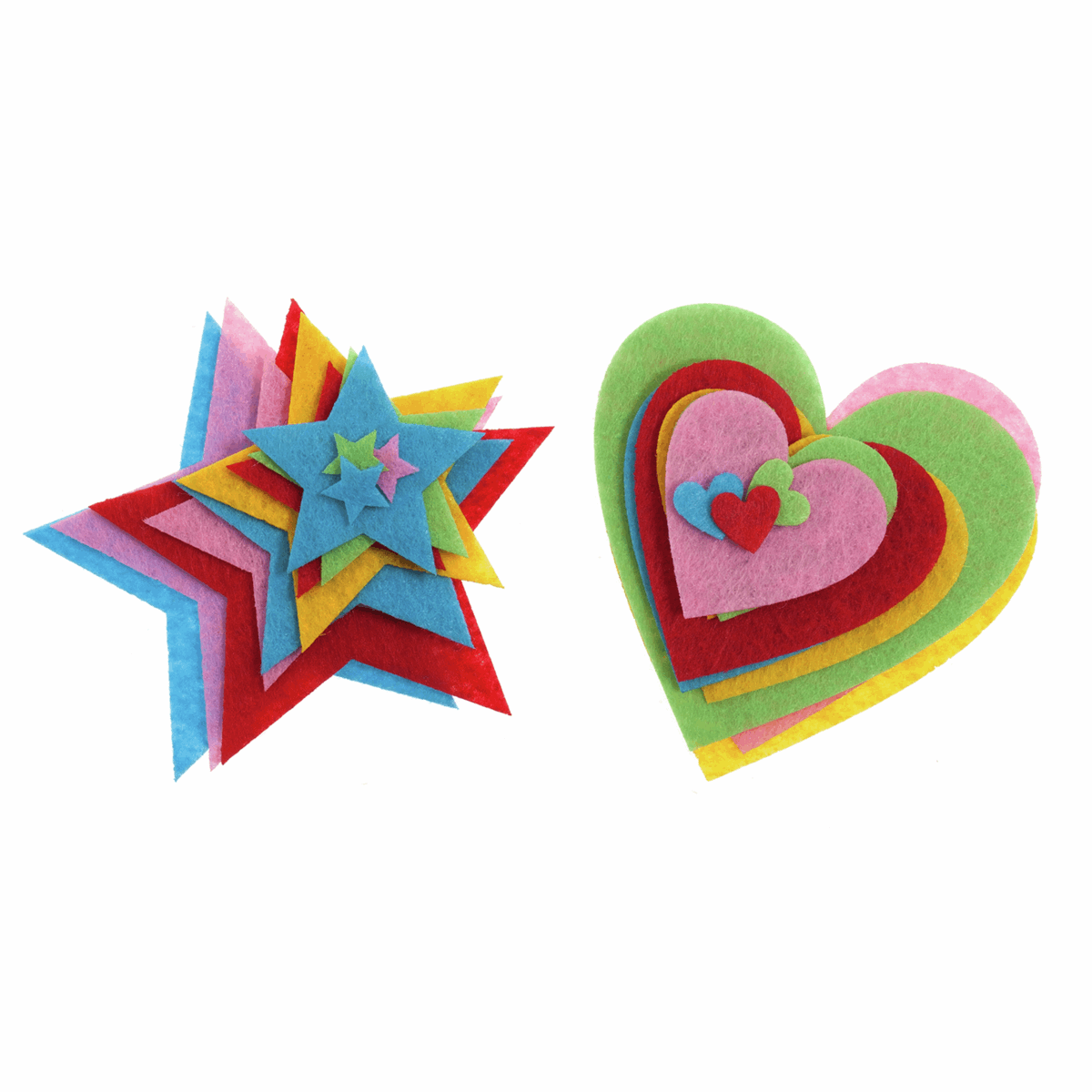 Picture of Motif Strip: Bright Hearts & Stars