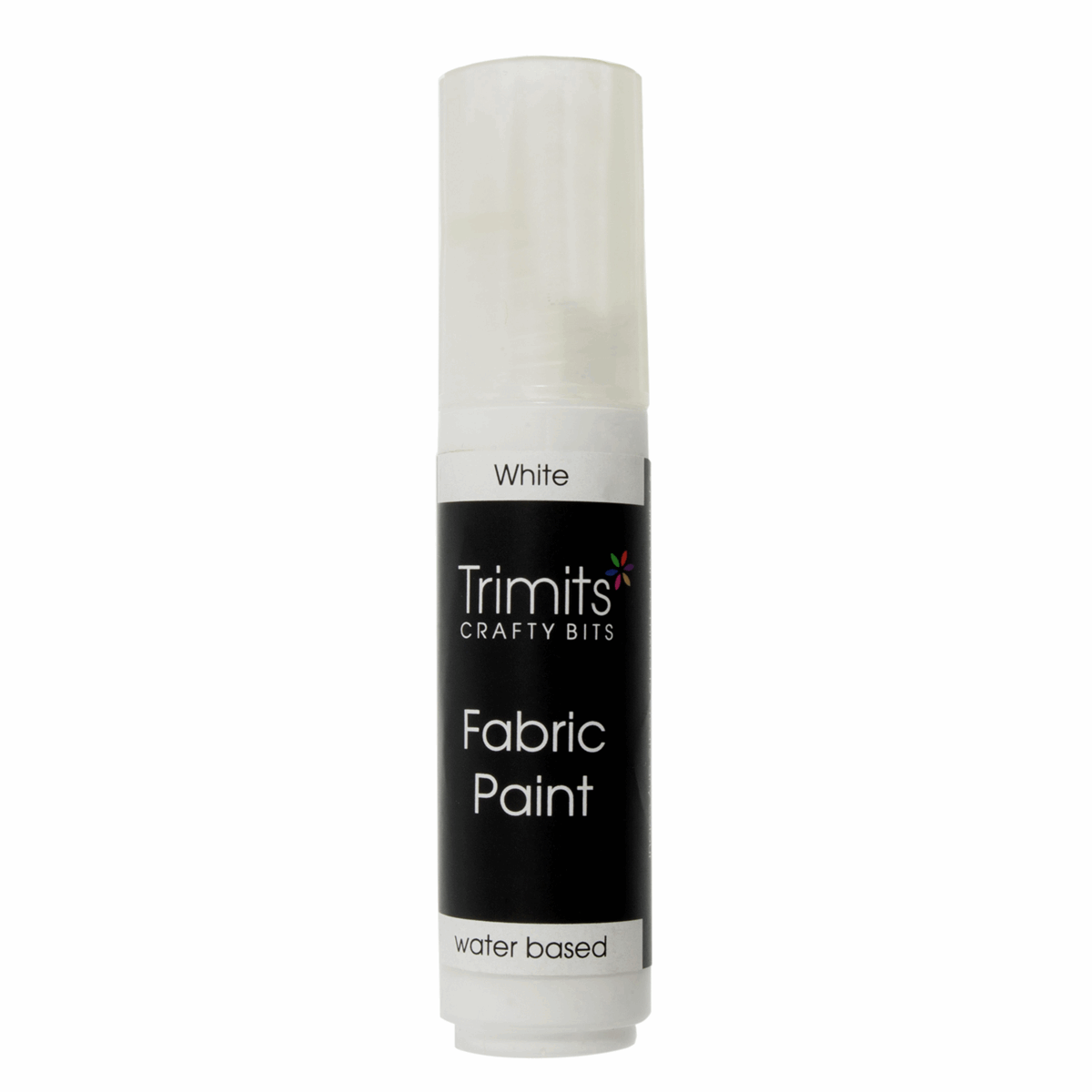 Picture of Fabric Paint: Pen: 20ml: White