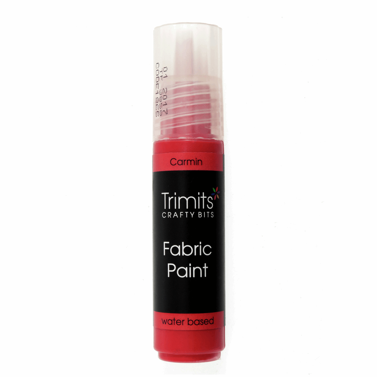 Picture of Fabric Paint: Pen: 20ml: Carmin