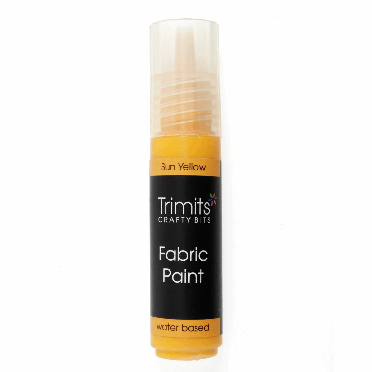 Picture of Fabric Paint: Pen: 20ml: Sun Yellow