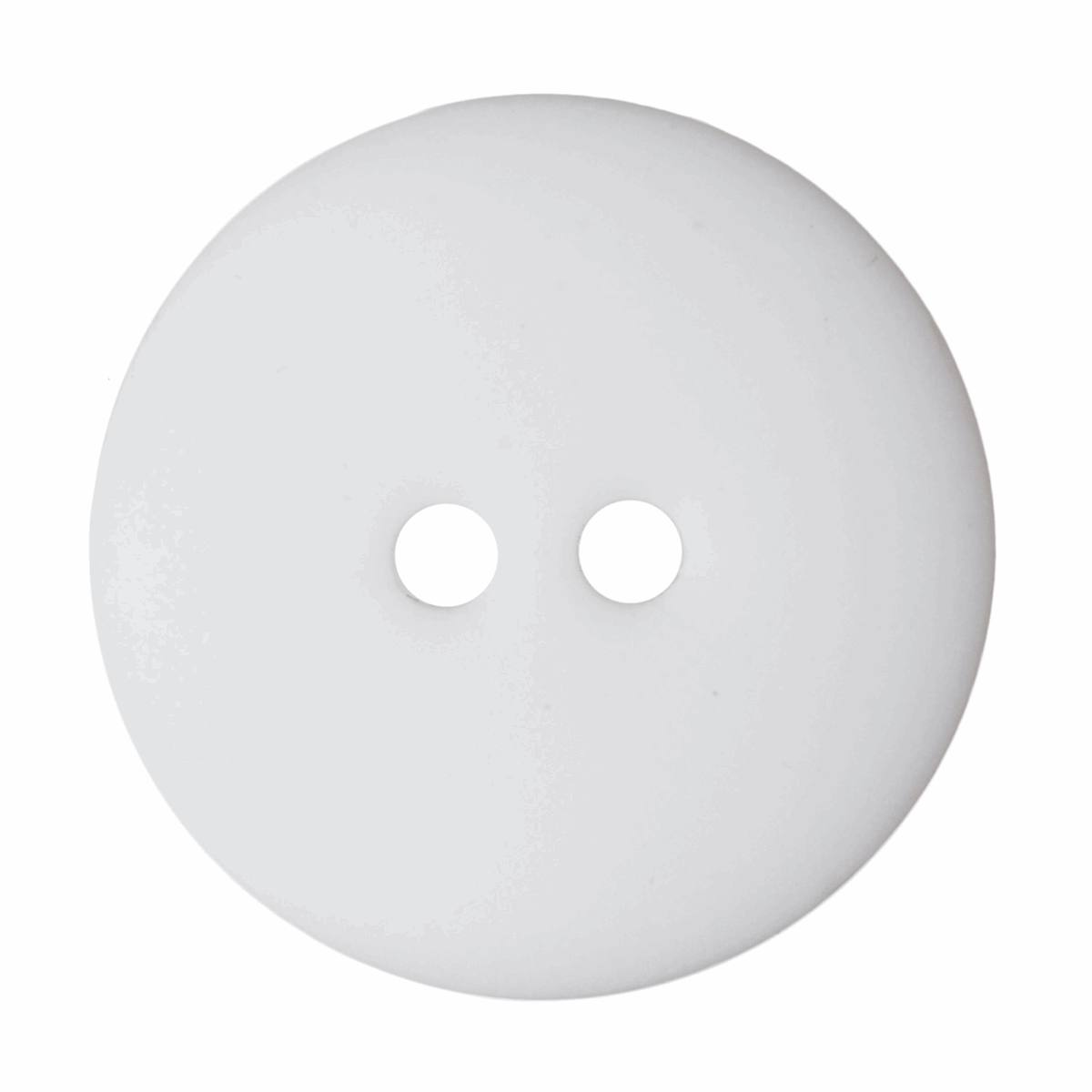 Picture of Matt Smartie Button: 32 lignes/20mm: White
