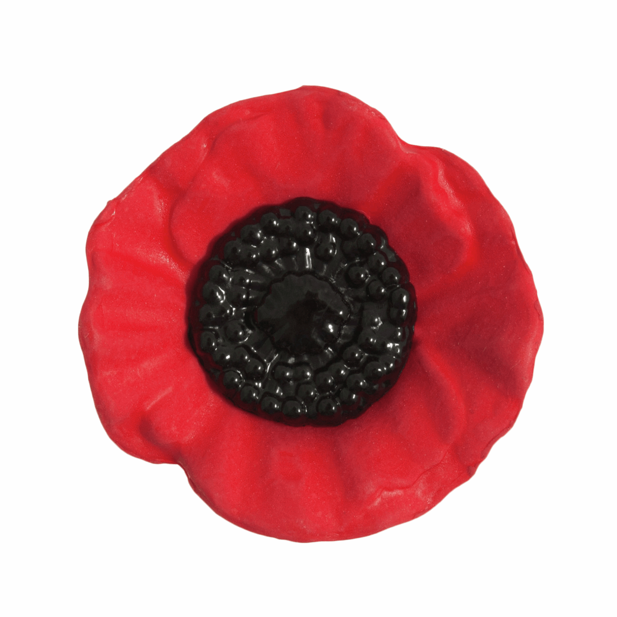 Picture of Poppy Button: Shank: 41mm