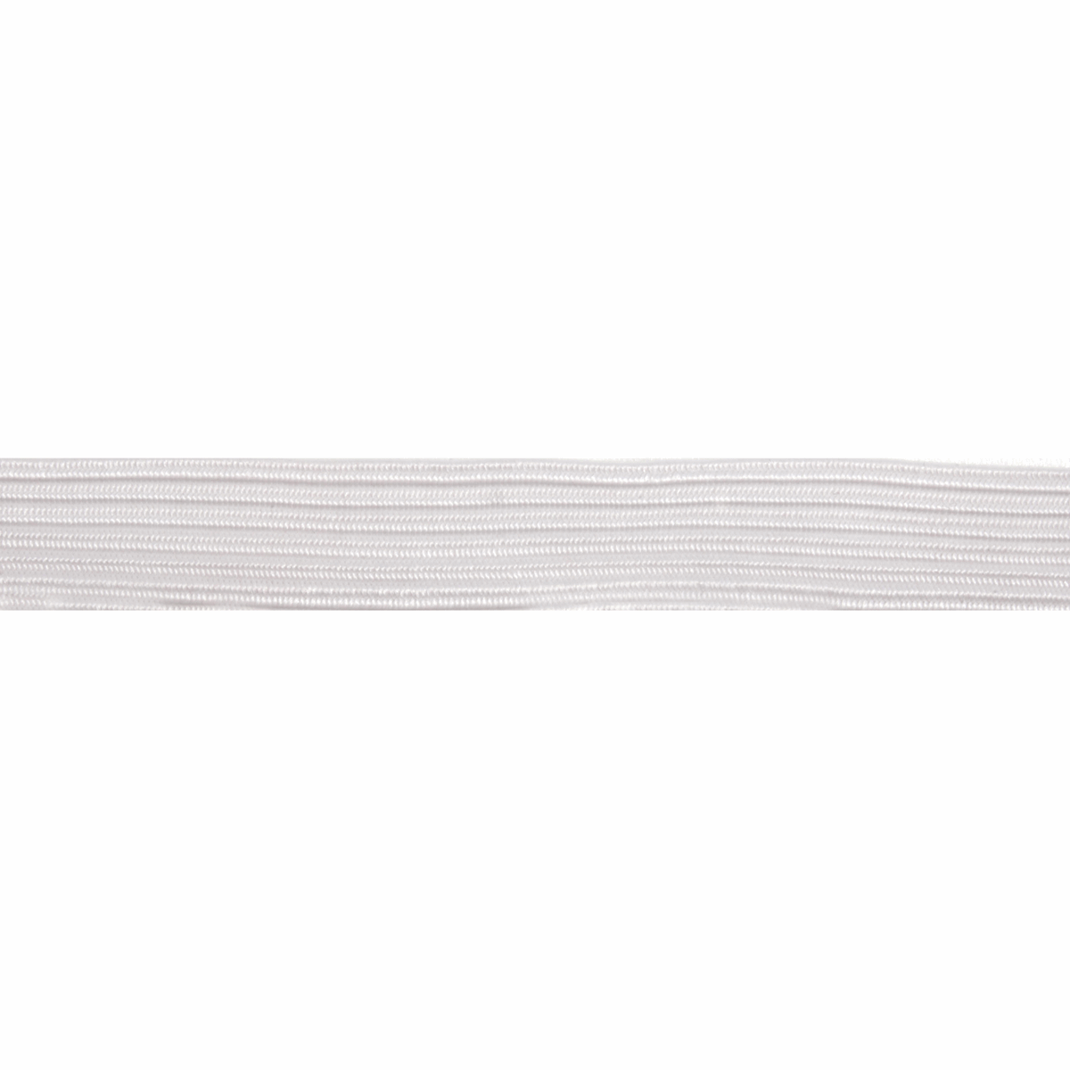 Picture of Braided Elastic 300m x 5mm: White