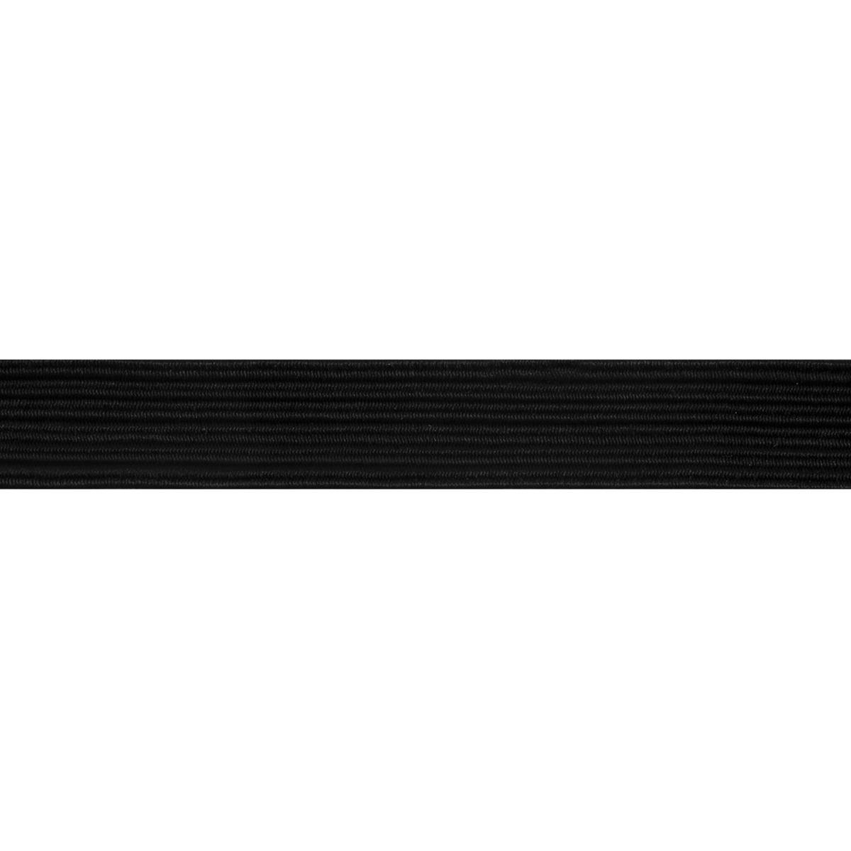 Picture of Braided Elastic 200m x 8mm: Black