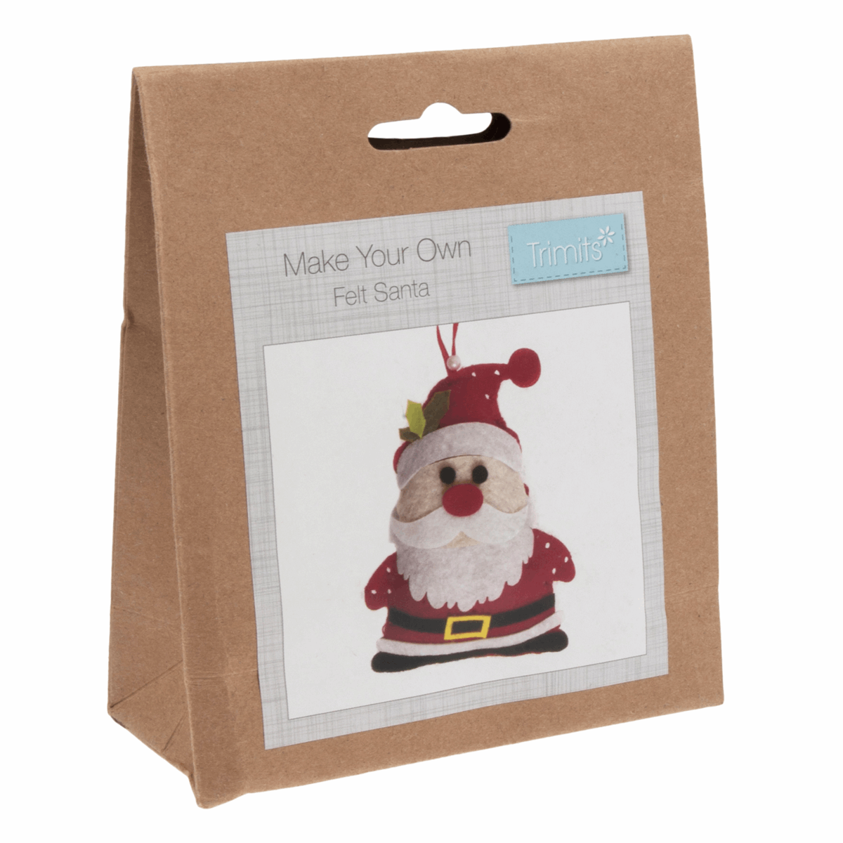 Picture of Felt Decoration Kit: Christmas: Santa