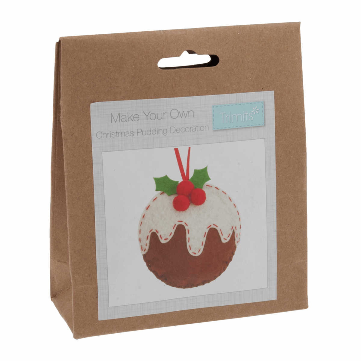Picture of Felt Decoration Kit: Christmas: Christmas Pudding