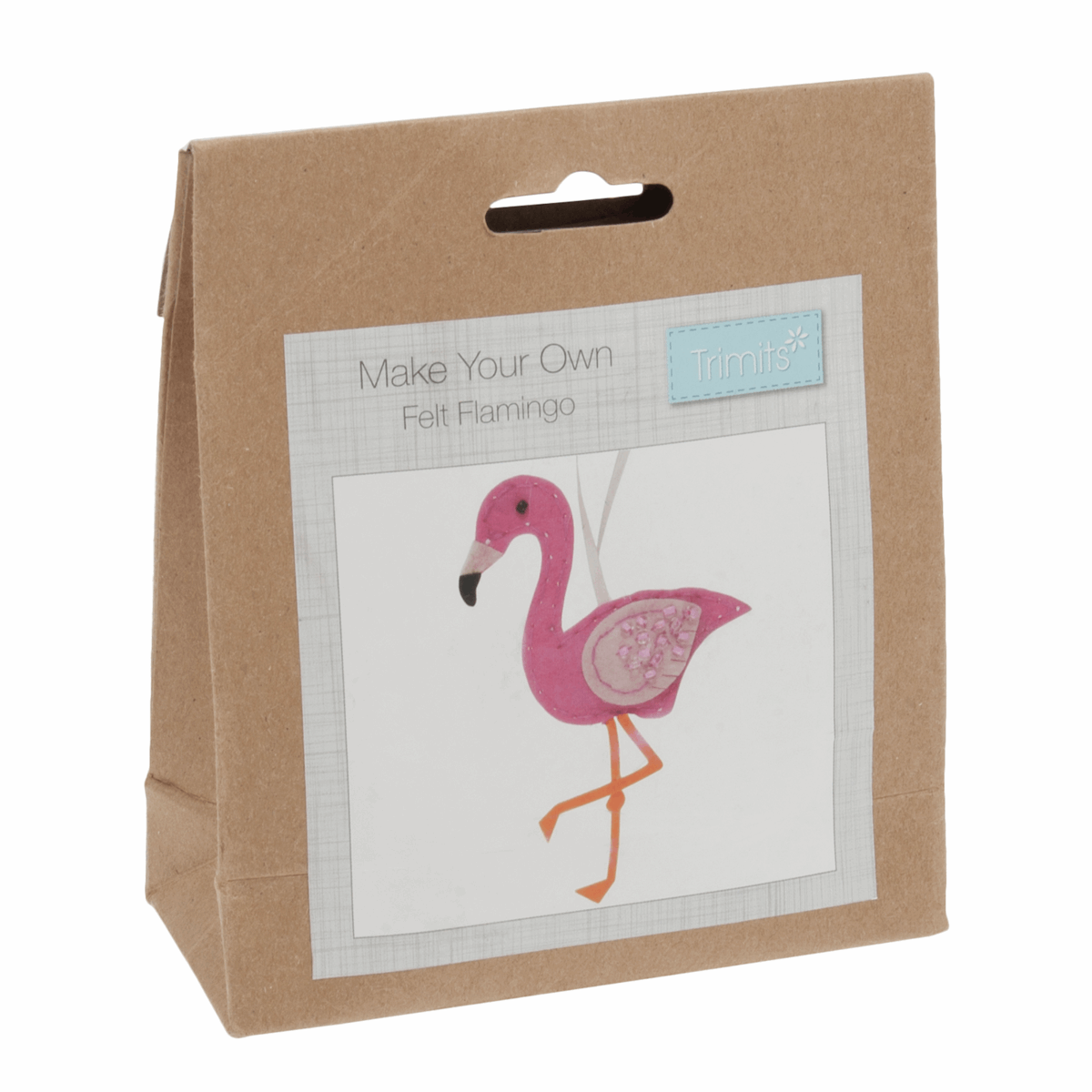 Picture of Felt Decoration Kit: Flamingo