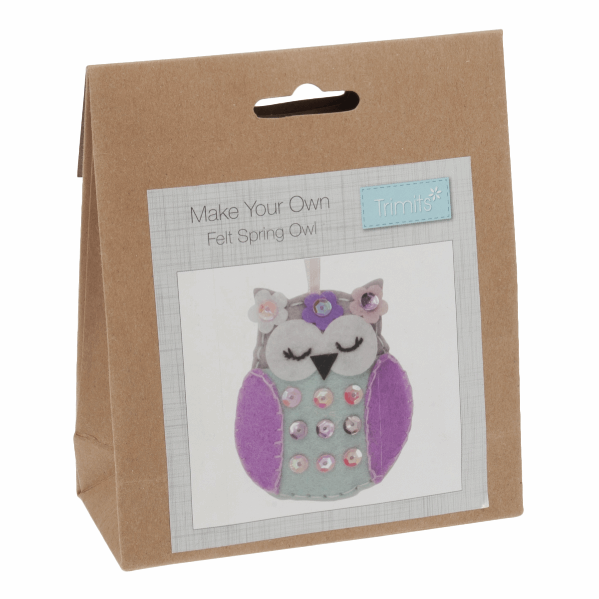 Picture of Felt Decoration Kit: Spring Owl