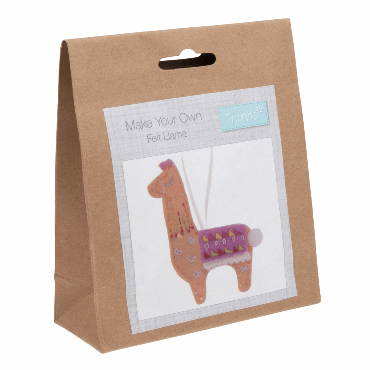 Picture of Felt Decoration Kit: Llama