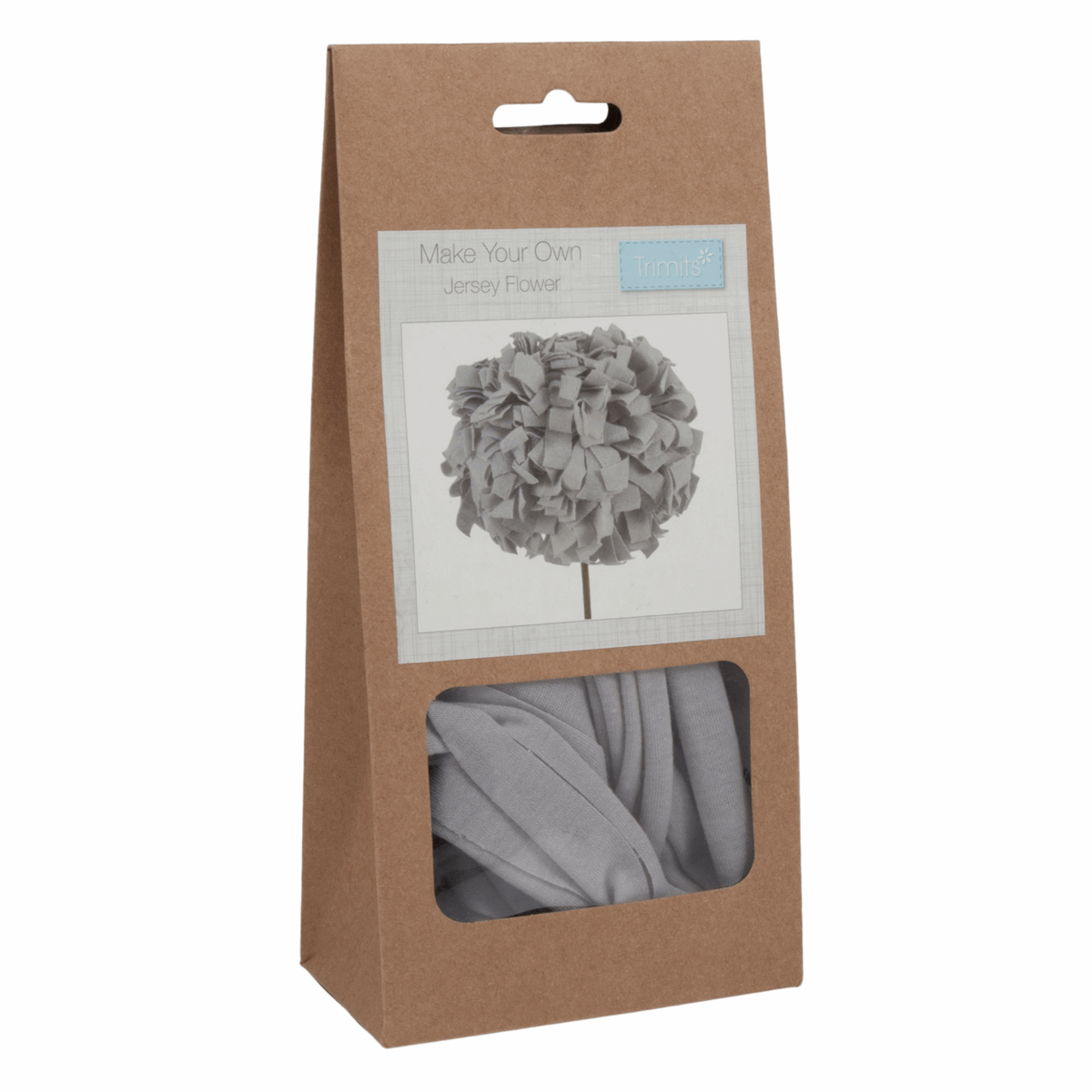 Picture of Jersey Flower Kit: Pale Grey