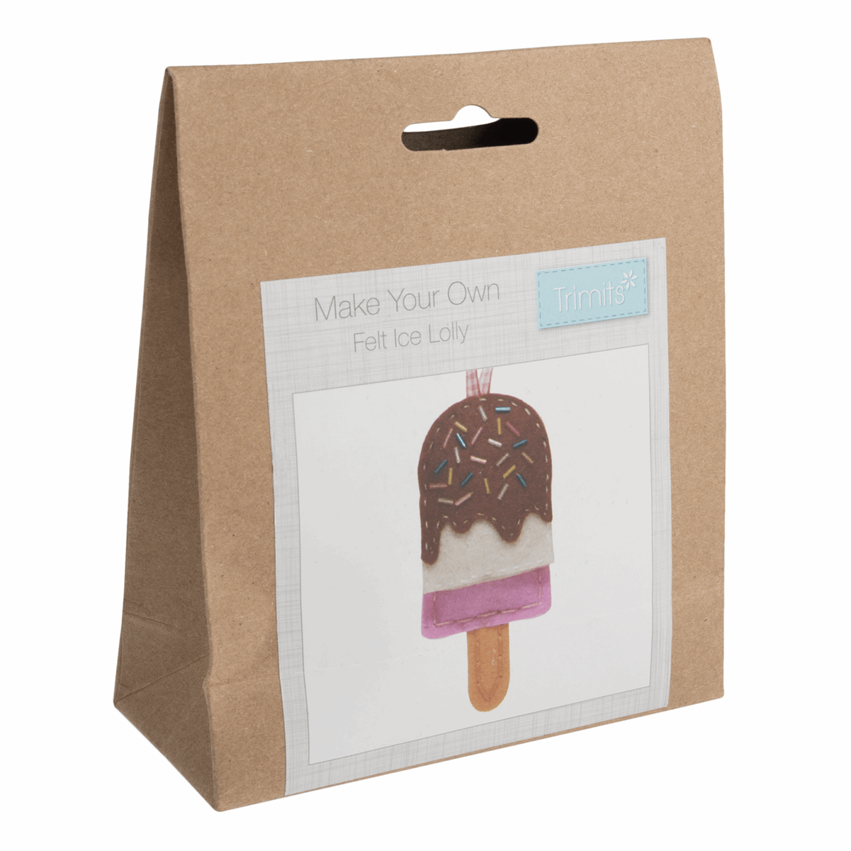 Picture of Felt Decoration Kit: Ice Lolly
