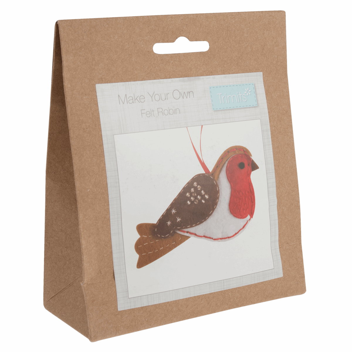 Picture of Felt Decoration Kit: Christmas: Robin