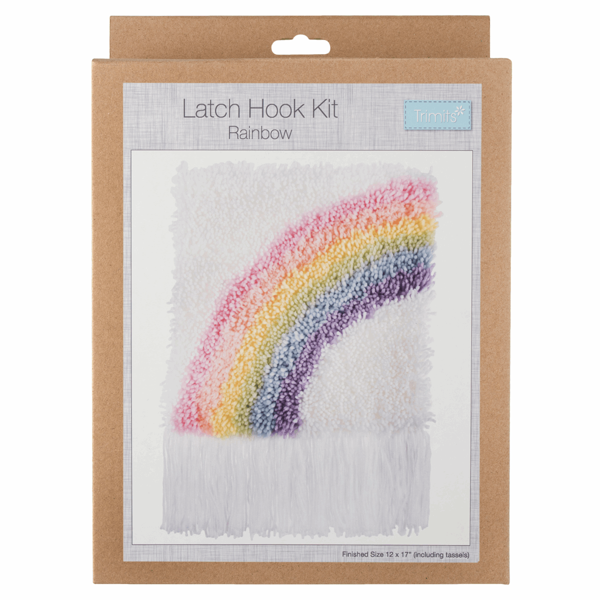 Picture of Latch Hook Kit: Rainbow
