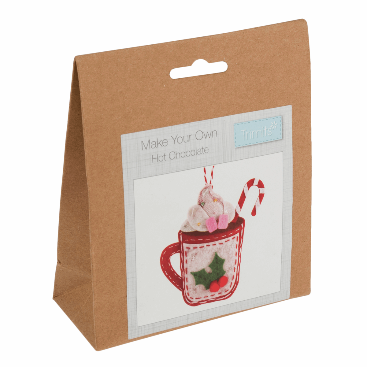 Picture of Felt Decoration Kit: Christmas: Hot Chocolate