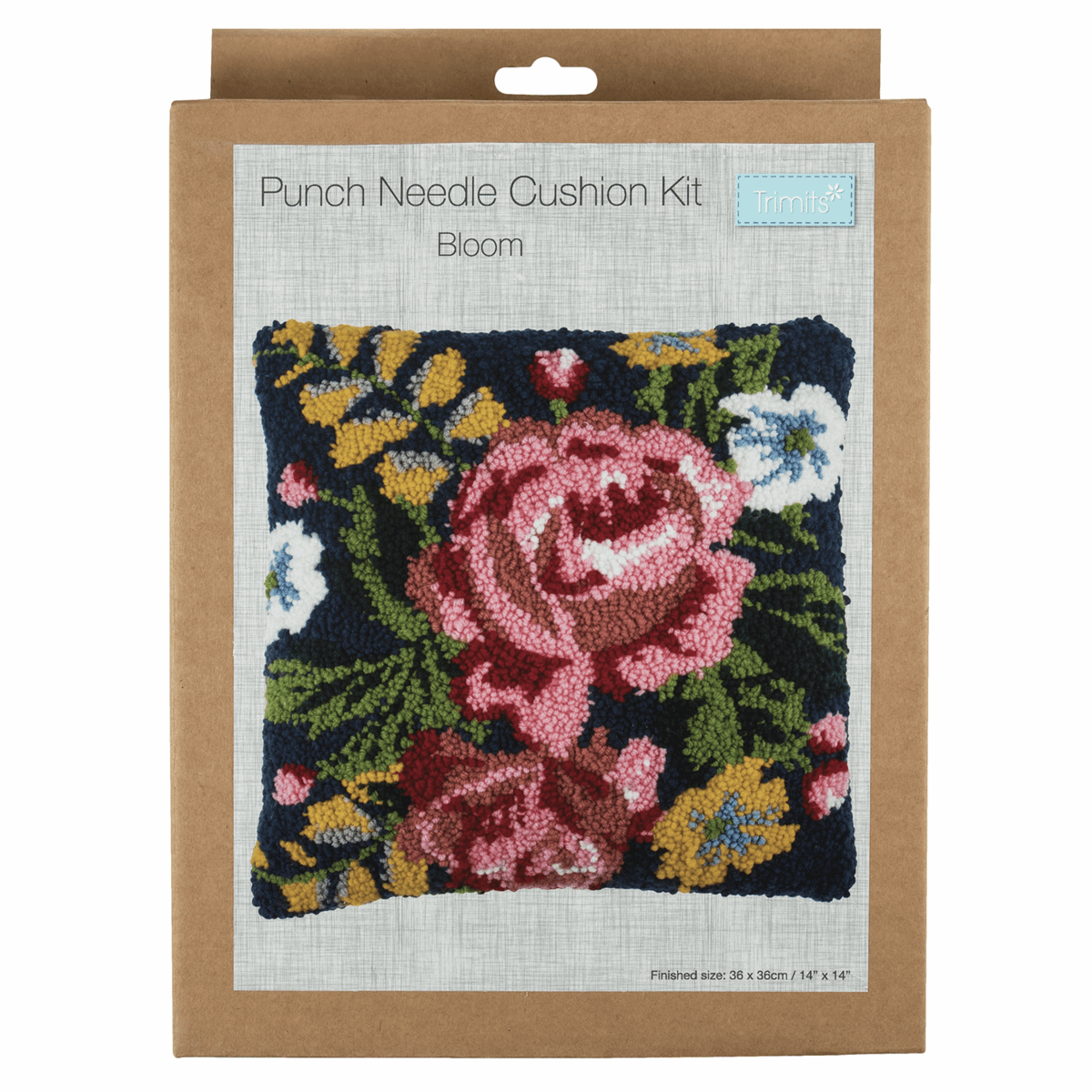 Picture of Punch Needle Kit: Cushion: Bloom