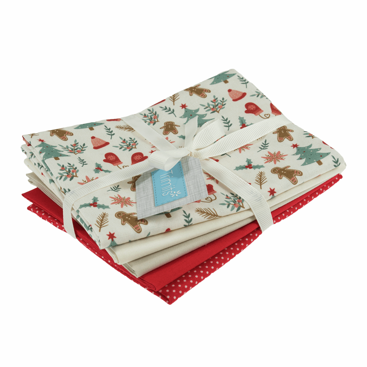 Picture of Fat Quarter Pack: Gingerbread: Pack of 5