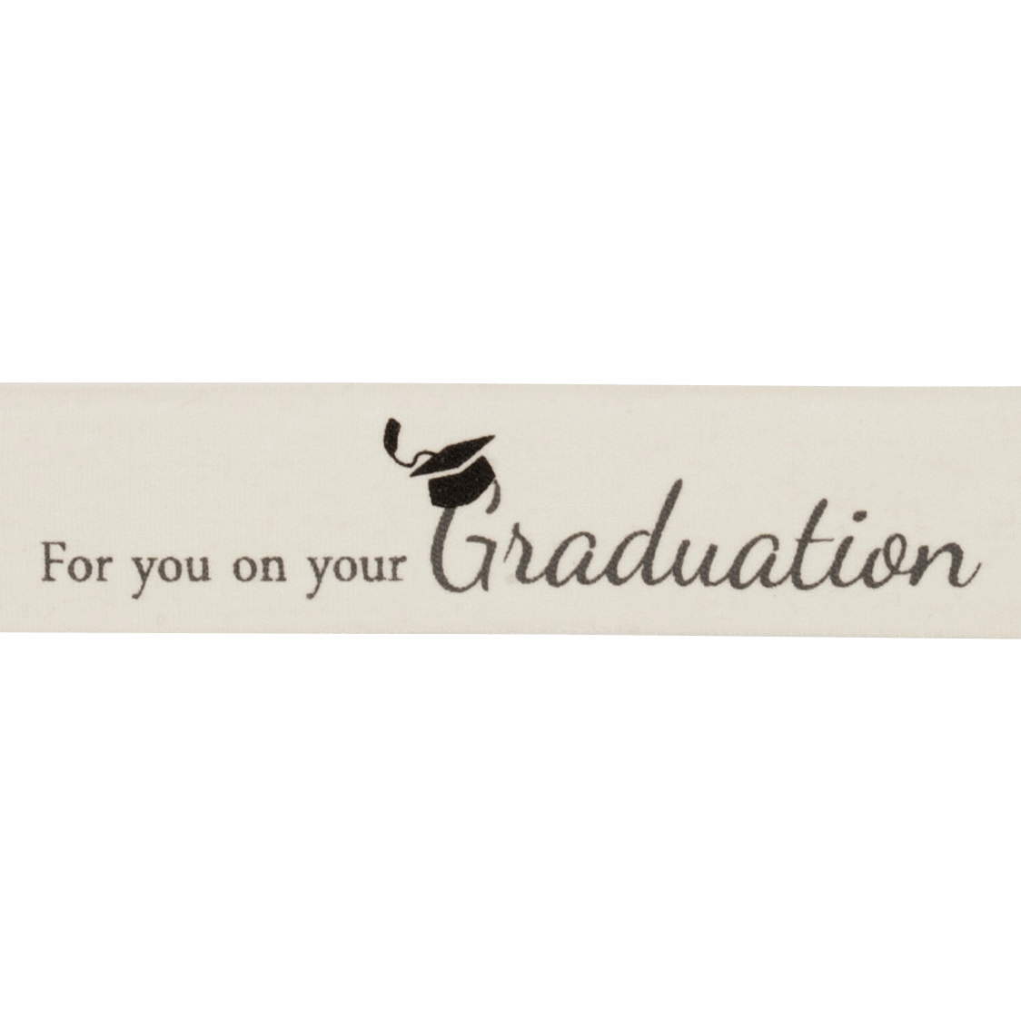 Picture of Ribbon: Graduation: Cotton: 20m x 25mm