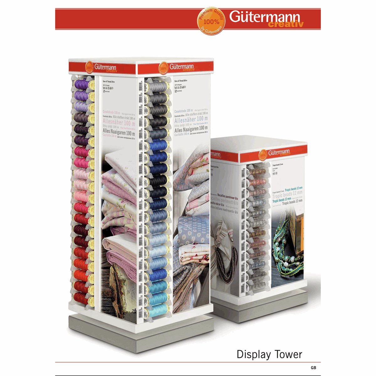 Picture of Gutermann: Display Tower: Brochure
