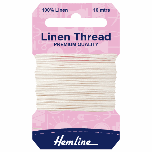 Picture of Linen Thread: 10m: White
