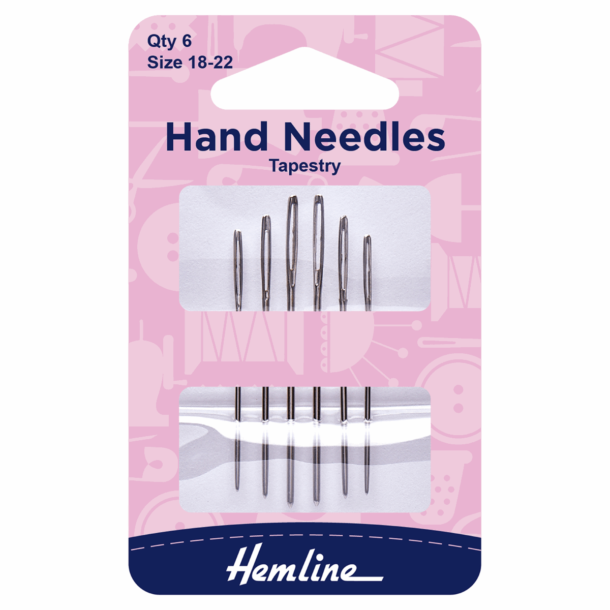 Picture of Hand Sewing Needles: Tapestry: Size 18-22
