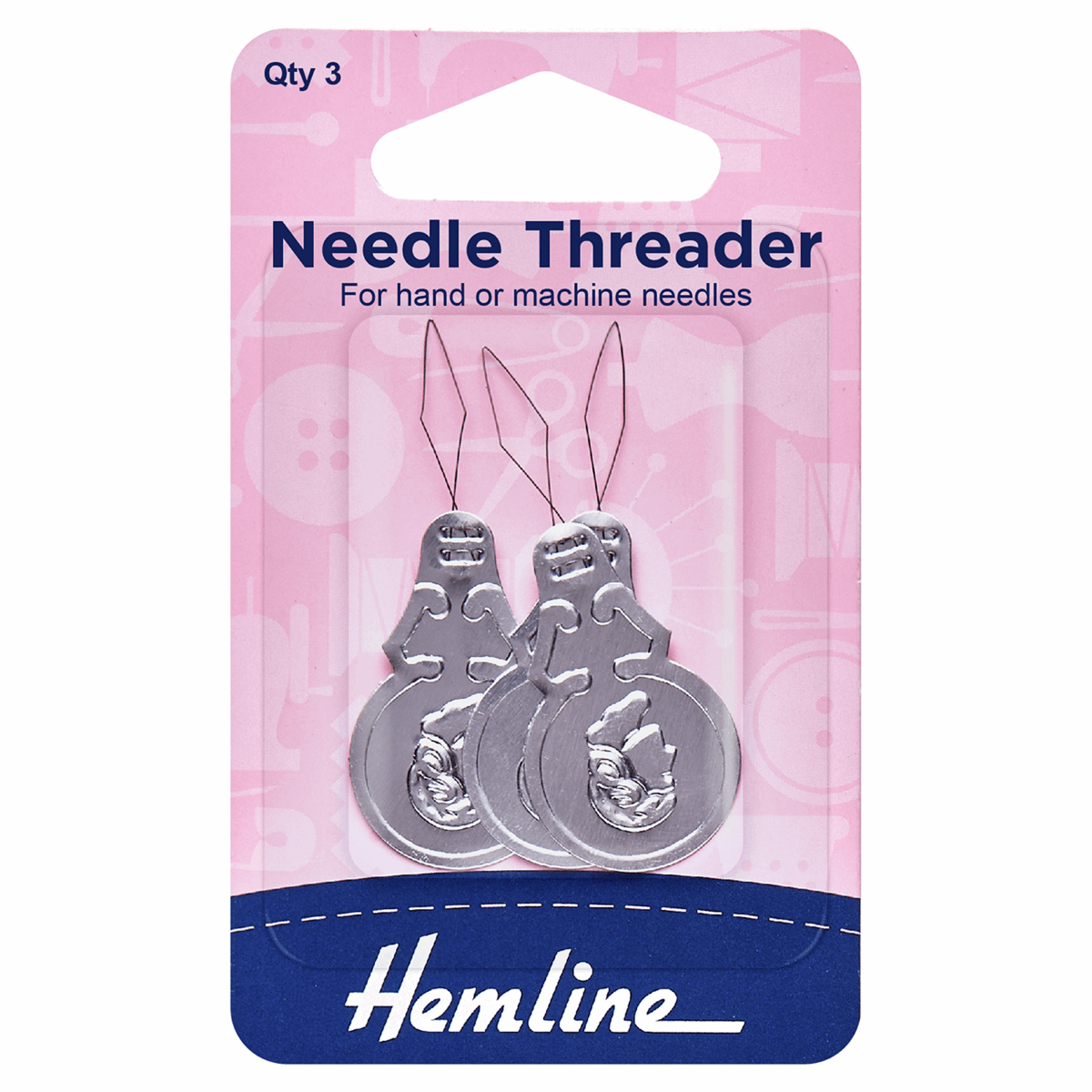 Picture of Needle Threader: Aluminium