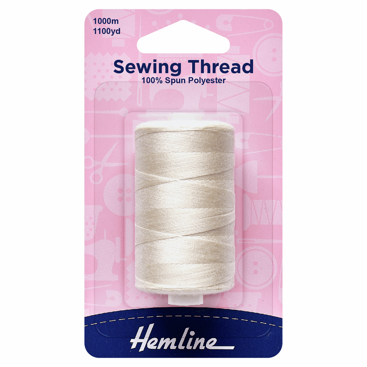 Picture of Sewing Thread: 5 x 1,000m: Natural