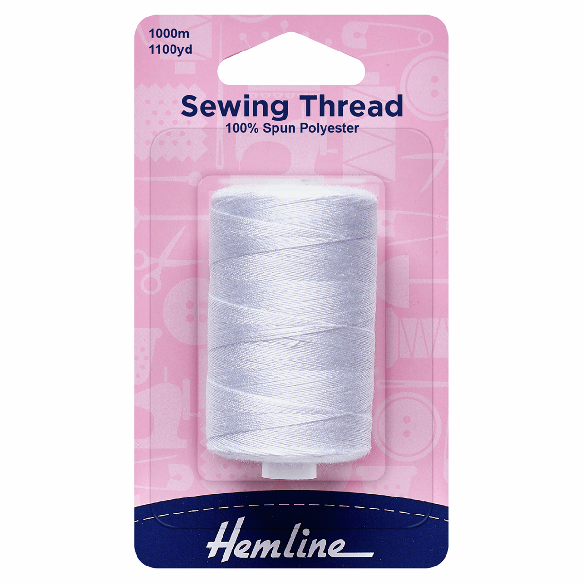 Picture of Sewing Thread: 5 x 1,000m: White