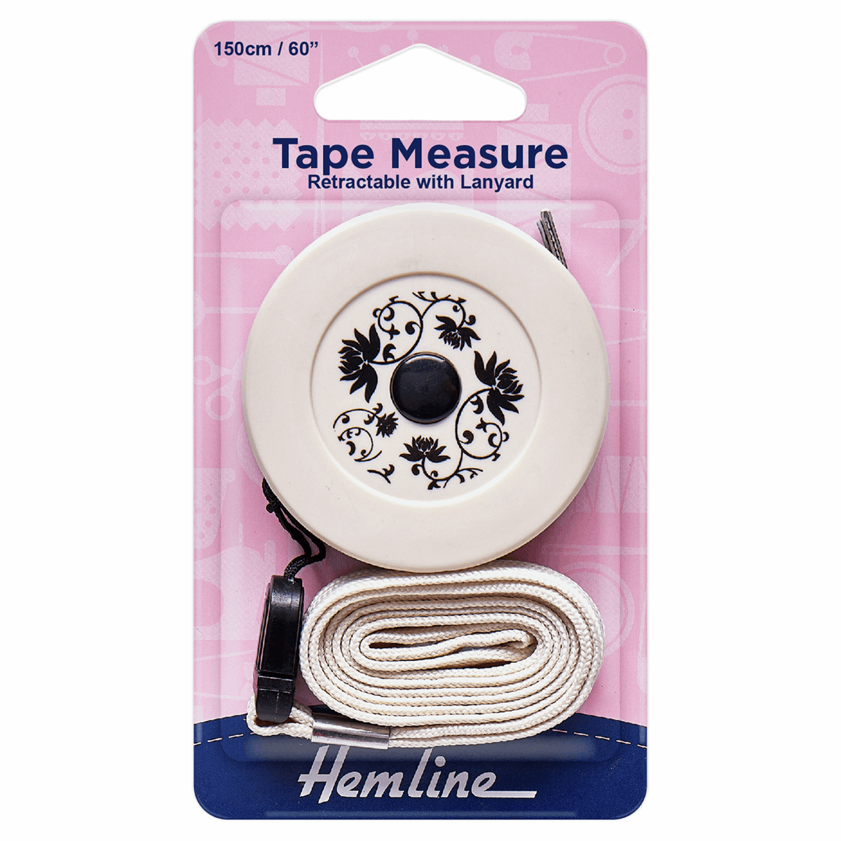 Picture of Tape Measure: Retractable with Lanyard - 150cm