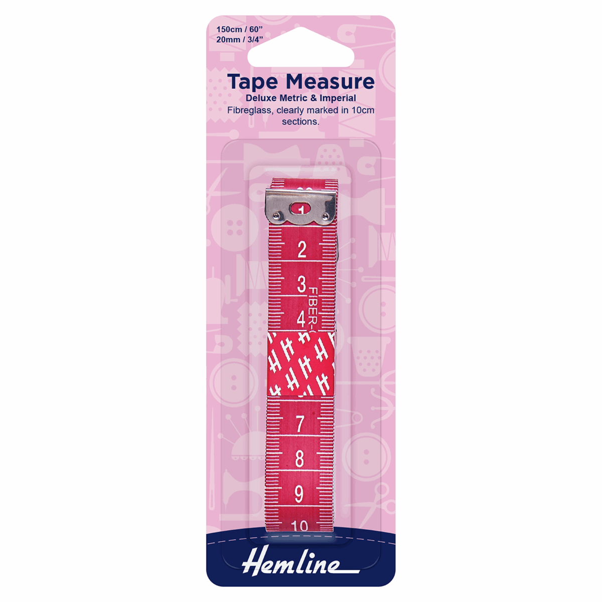 Picture of Tape Measure: Deluxe Metric/Imperial - 150cm