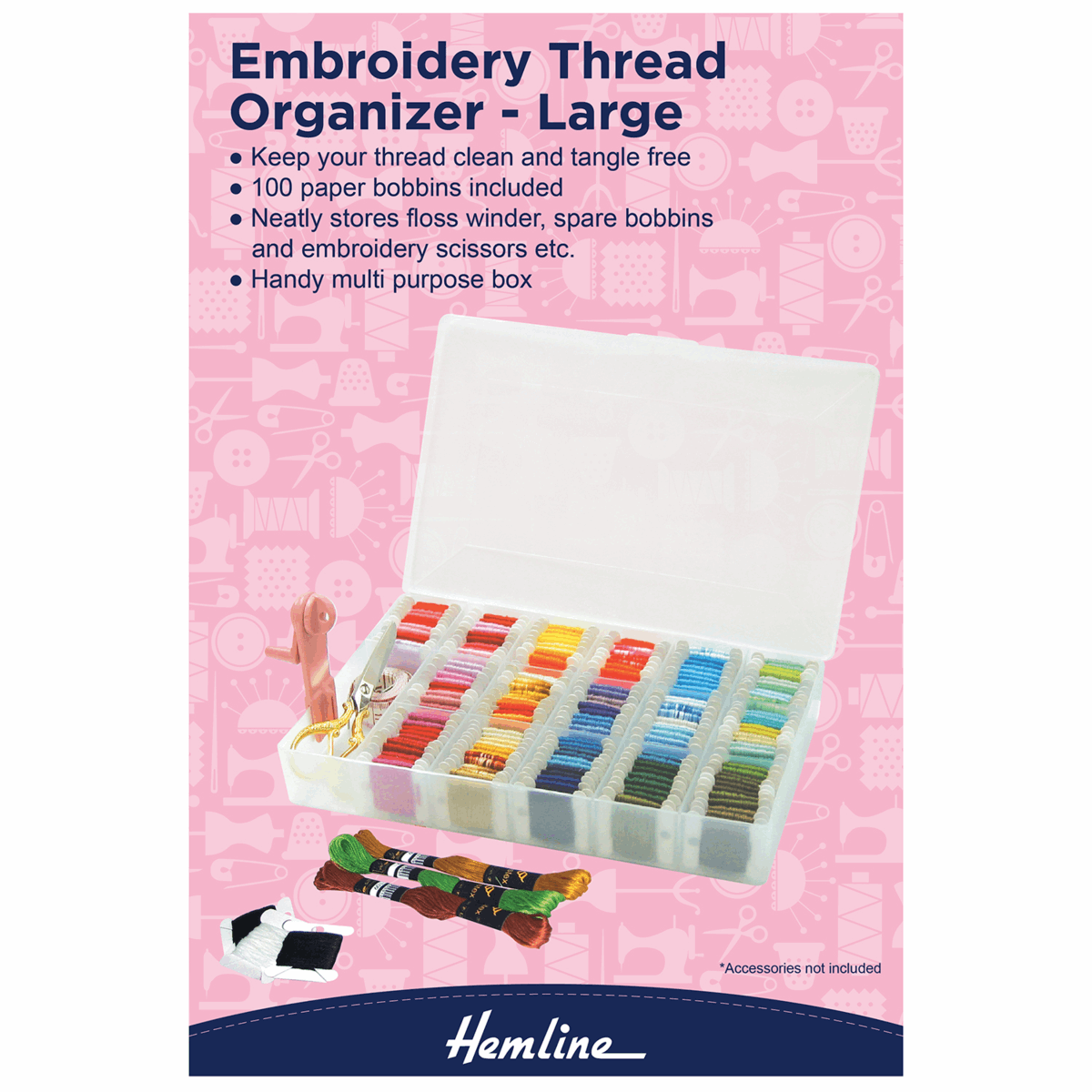 Picture of Embroidery Thread Organiser - Large