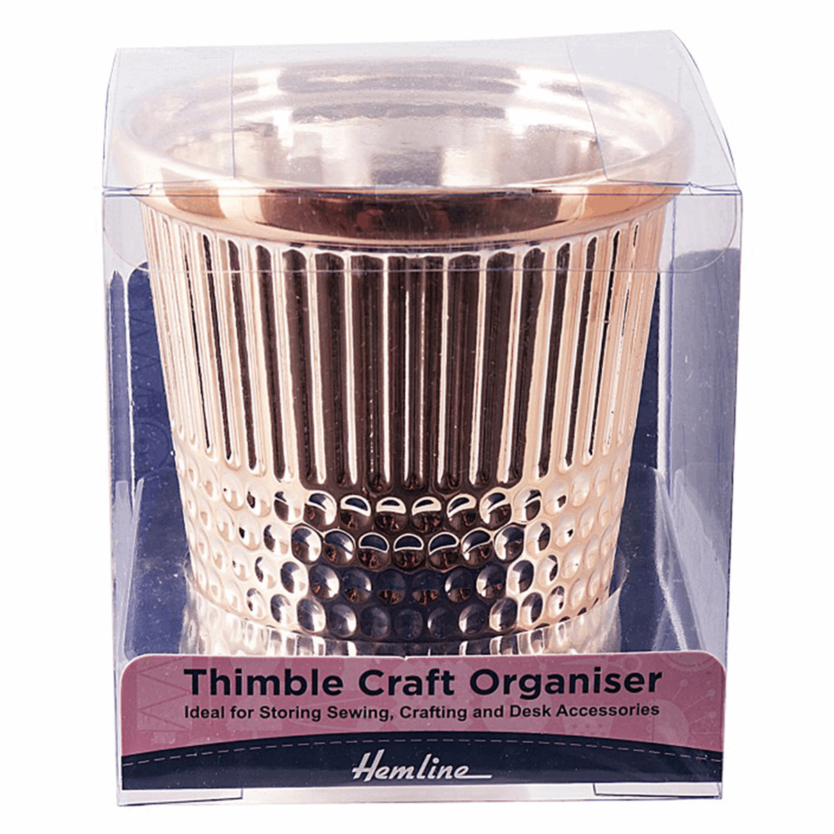 Picture of Thimble: Desk Craft Organiser: Rose Gold