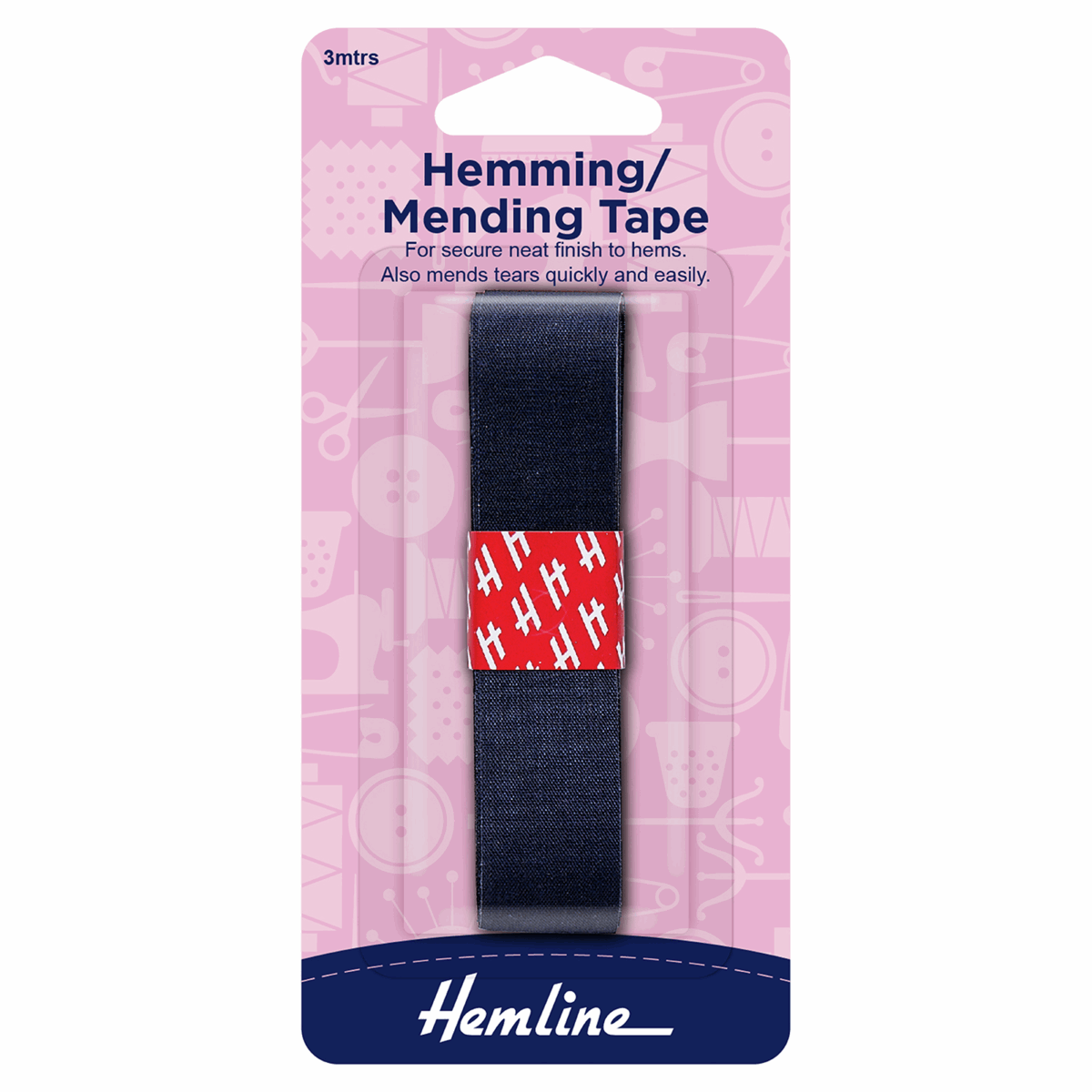 Picture of Hemming Tape: 3m x 20mm: Navy