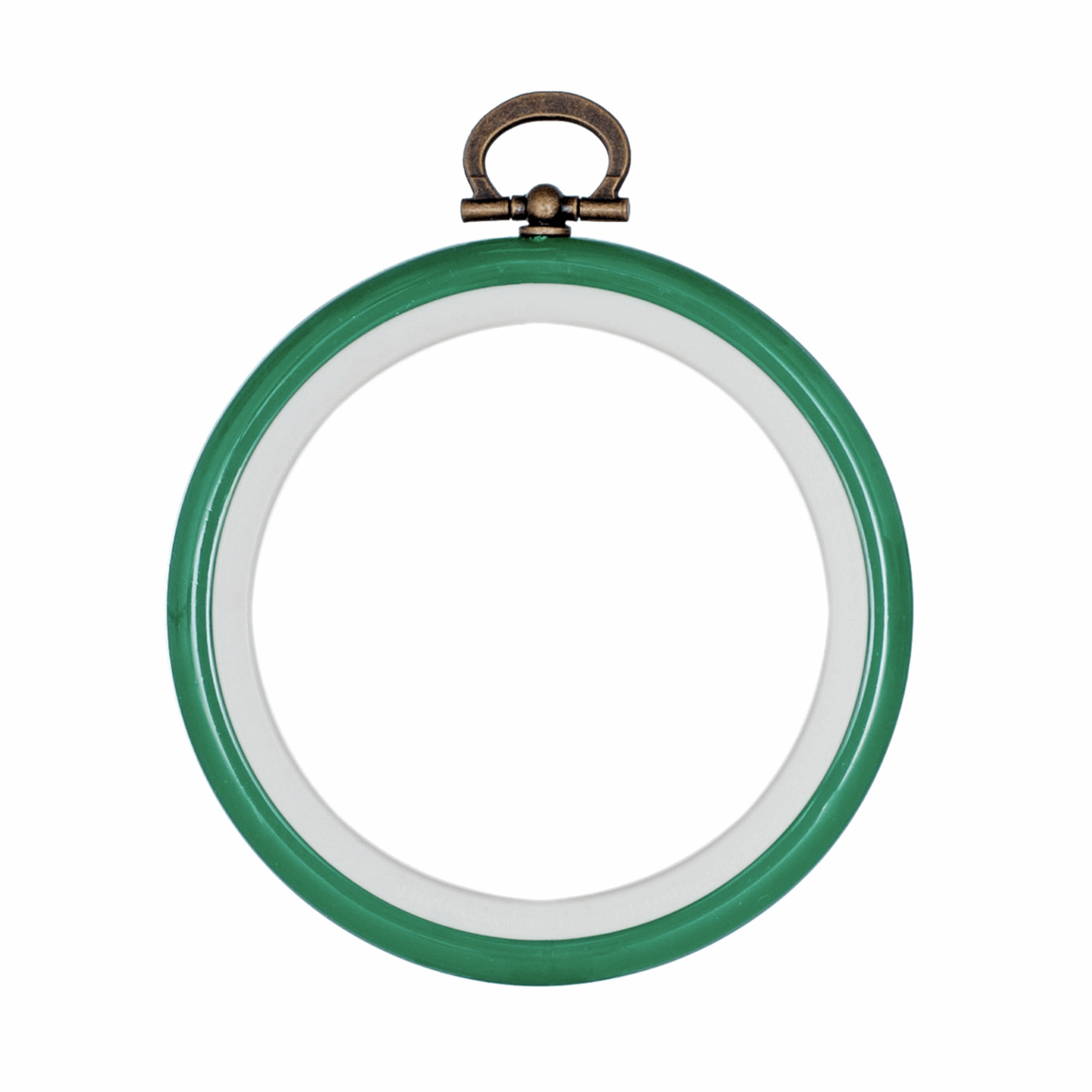 Picture of Hoop: Flexi: Round: 7.6cm/3in: Green